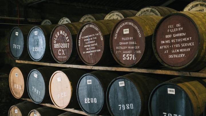 Glen Moray casks